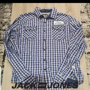 PRICE DROP!! Jack & Jones snap button shirt